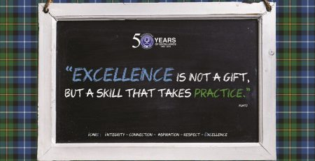 Excellence is not a gift, but a skill that takes practice.